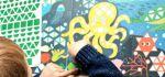 actie poppik stickerkaarten tropisch