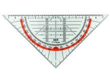 Aristo Geodriehoek met greep (16cm)