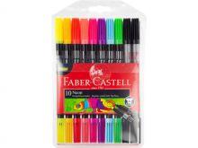 Faber Castell Duo-viltstiften neon