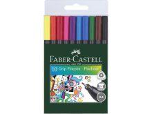 Faber Castell Grip Fineliners Etui (10st)