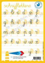 Letterkaart Schrijfletters