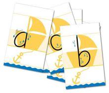 Letterlijnkaarten Blokschrift