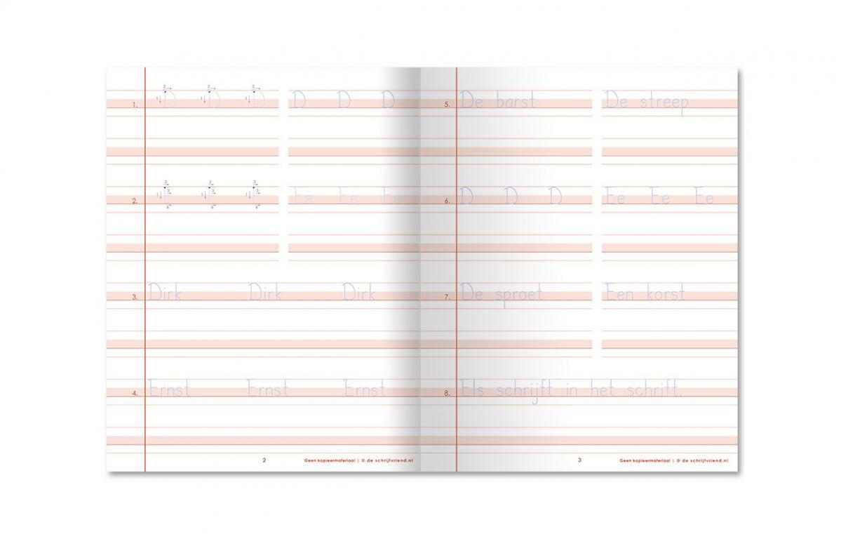 nieuw schrijfschrift blokschrift gr4 deel 1