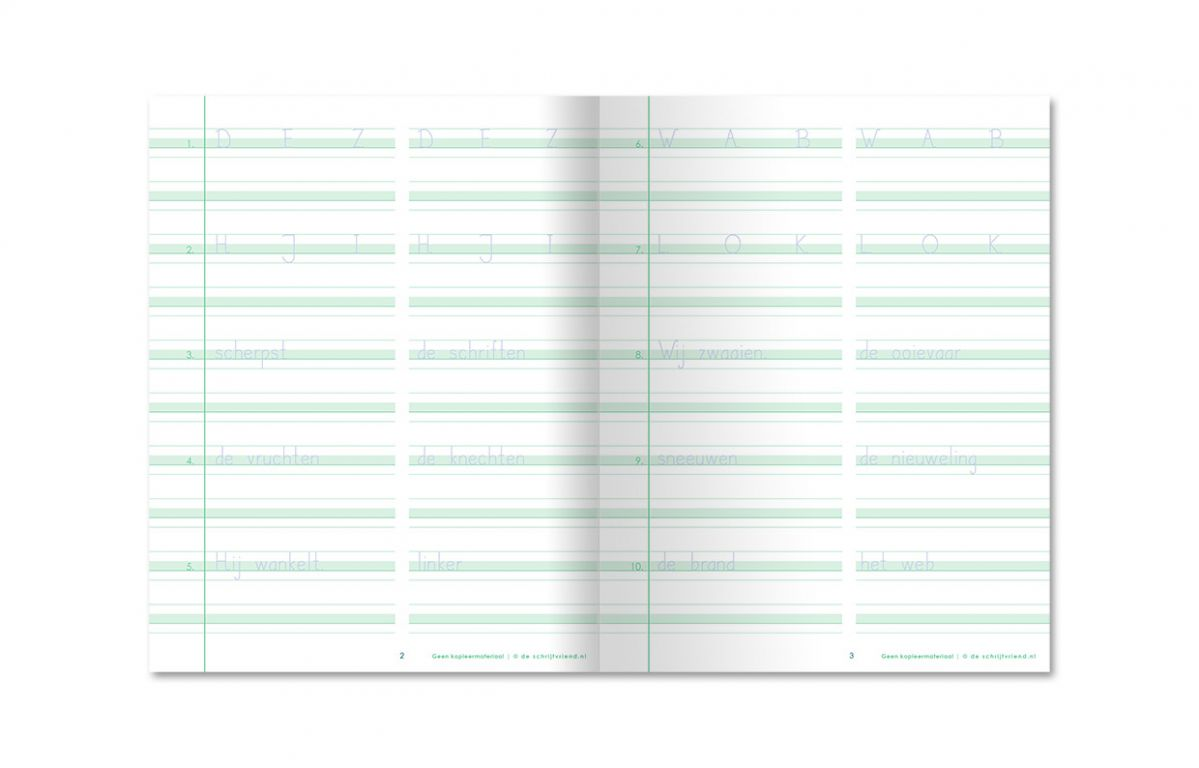 nieuw schrijfschrift blokschrift gr5 deel 1