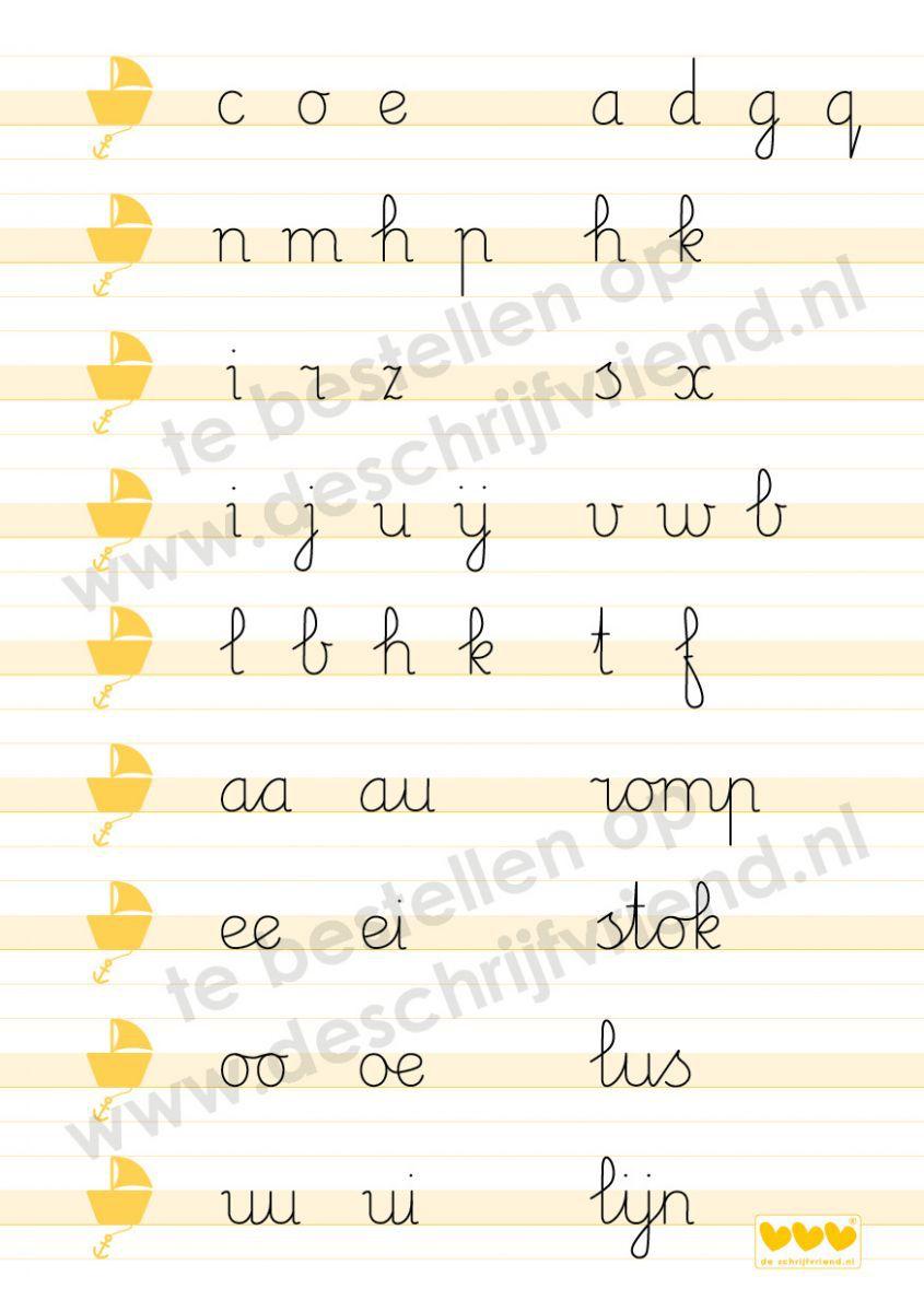 ringbandpapier schrijfvriend oranje