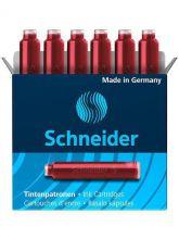 Schneider Inktpatroon Rood (6 st.)