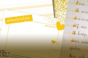 #Lievebriefjes voor een glimlach
