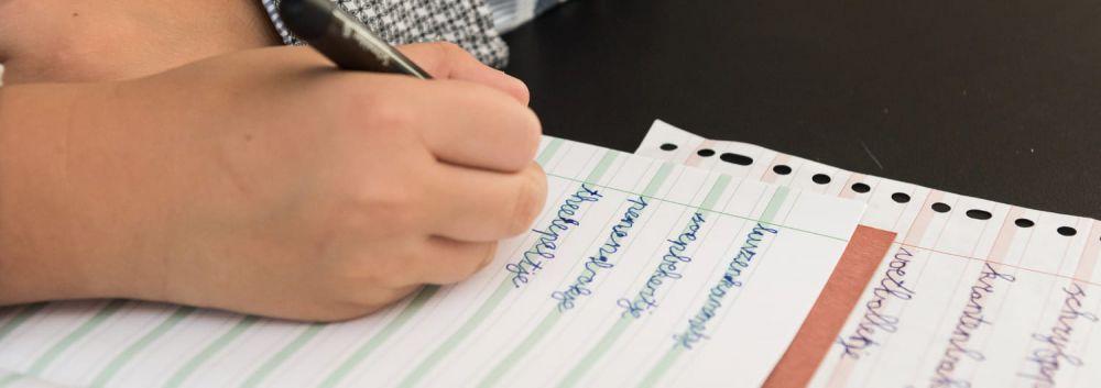 'De juiste koers voor goed schrijfonderwijs!'